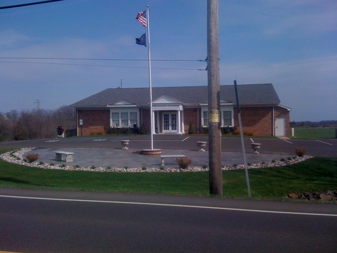 The Municipal Building in Wrightstown
