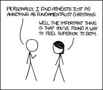"""Theis XKCD comic epitomizes """"agnostics"""" for me"""
