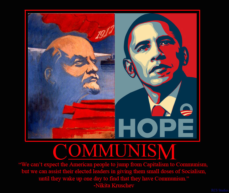 Could we justify calling Obama a communist?