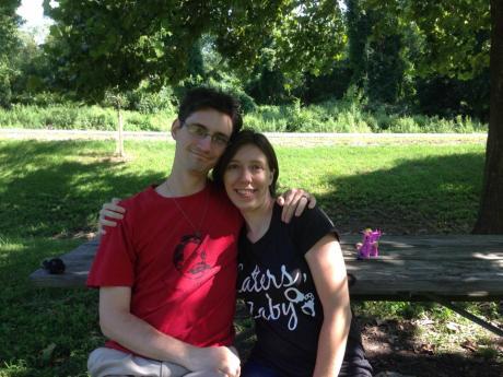 Last summer, when we first met IRL
